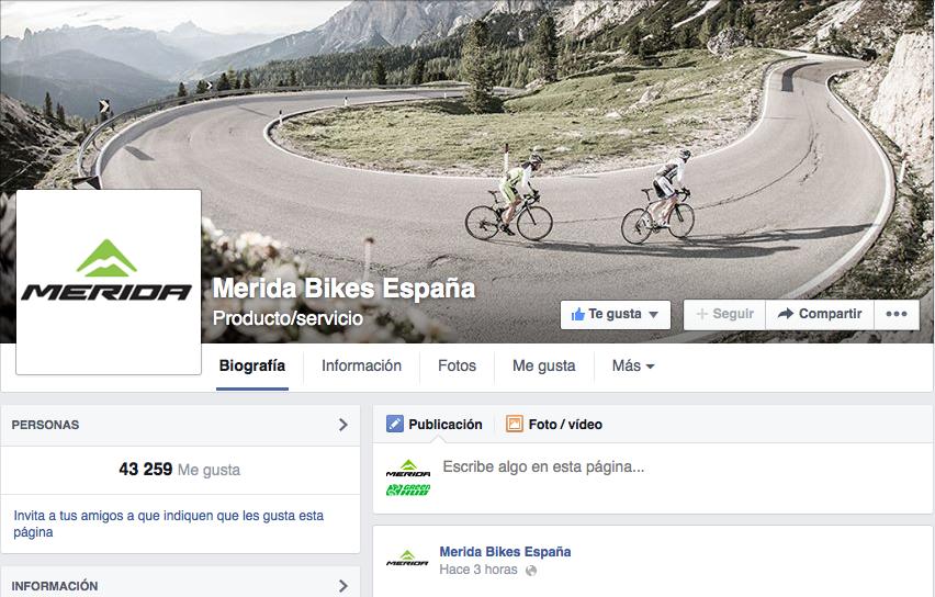 Merida BIkes España Facebook