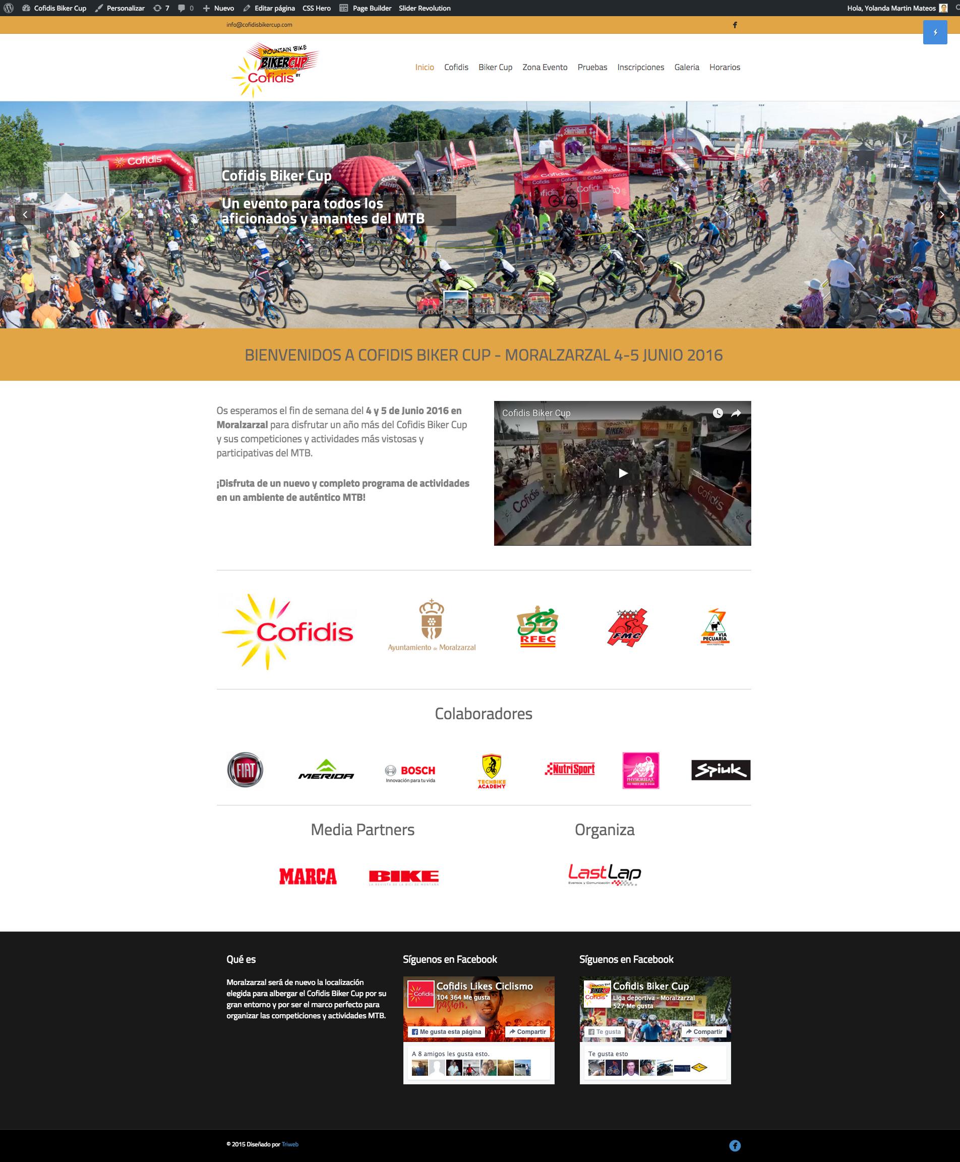 Tienda online de Fitness