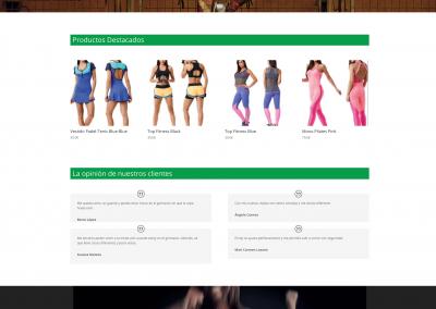 Tienda Online de Artículos de Fitness