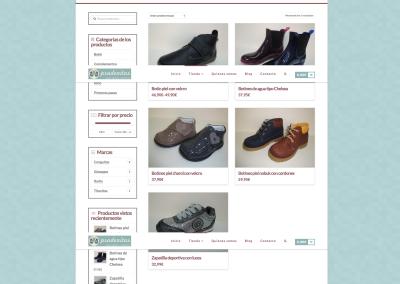 Tienda online de zapatos infantiles