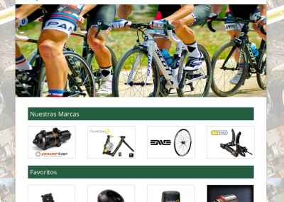 Distribuidora sector ciclismo